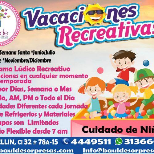 vacaciones 4 servicios